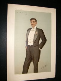 Vanity Fair Print 1896 Arthur Bourchier, Theatre